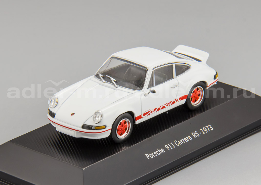 IXO (ATLAS) 1:43 Porsche 911 Carrera RS 1973 (white) ATLAS-4002